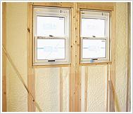 断熱性能を上げる断熱材吹付け・建物を守る耐火被覆工事